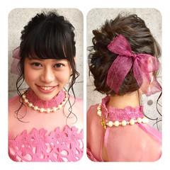 ヘアアレンジ アッシュ ゆるふわ フェミニン ヘアスタイルや髪型の写真・画像