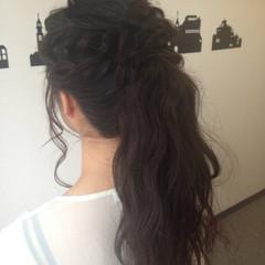 ショート パーティ アップスタイル 簡単ヘアアレンジ ヘアスタイルや髪型の写真・画像