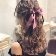 ロング 成人式 上品 エレガント ヘアスタイルや髪型の写真・画像