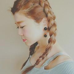 秋 ロング 透明感 フェミニン ヘアスタイルや髪型の写真・画像