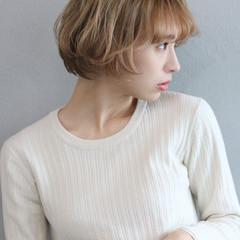 ハイトーン ベリーショート ハイトーンカラー ショートボブ ヘアスタイルや髪型の写真・画像