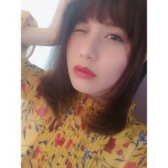ミディアム 外国人風 春 夏 ヘアスタイルや髪型の写真・画像