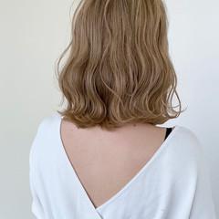 ナチュラル可愛い ブリーチカラー ナチュラル ボブ ヘアスタイルや髪型の写真・画像