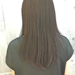 セミロング イルミナカラー オフィス デート ヘアスタイルや髪型の写真・画像