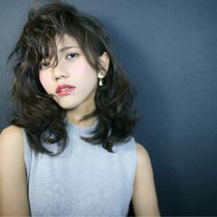 ミディアム 外国人風 大人かわいい モード ヘアスタイルや髪型の写真・画像