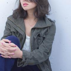 外国人風 大人女子 ボブ ミディアム ヘアスタイルや髪型の写真・画像