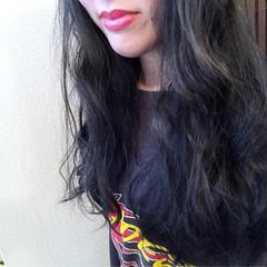 グレーアッシュ ネイビー ストリート グレージュ ヘアスタイルや髪型の写真・画像