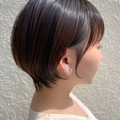 ショートヘア ミニボブ ベリーショート ショートボブ ヘアスタイルや髪型の写真・画像
