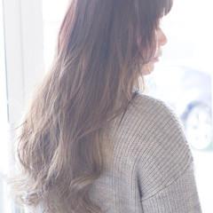 外国人風 大人女子 グラデーションカラー ゆるふわ ヘアスタイルや髪型の写真・画像
