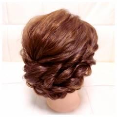 ブライダル ゆるふわ ロング ナチュラル ヘアスタイルや髪型の写真・画像
