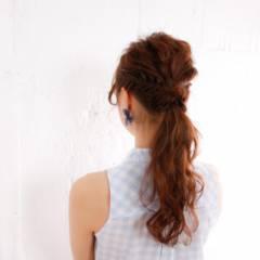 春 モテ髪 ヘアアレンジ 愛され ヘアスタイルや髪型の写真・画像