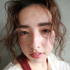 ミディアム ショート ストリート ラフ ヘアスタイルや髪型の写真・画像