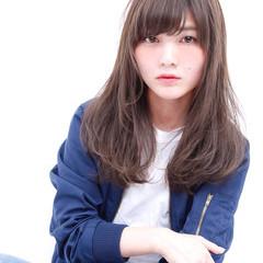 大人かわいい 外国人風 ワンカール 透明感 ヘアスタイルや髪型の写真・画像