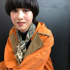 マッシュ 色気 ウルフカット ストリート ヘアスタイルや髪型の写真・画像