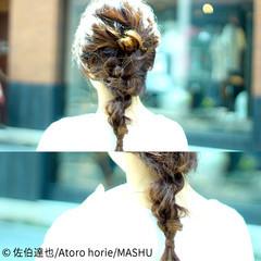 ショート 夏 簡単ヘアアレンジ ヘアアレンジ ヘアスタイルや髪型の写真・画像