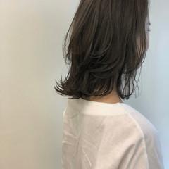 髪質改善トリートメント 髪質改善カラー ナチュラル ミディアム ヘアスタイルや髪型の写真・画像