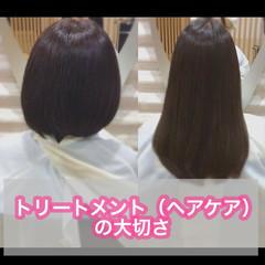 大人ロング 髪質改善 ナチュラル うる艶カラー ヘアスタイルや髪型の写真・画像