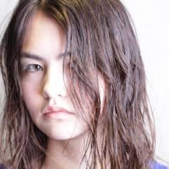 ロング 秋 ウェットヘア ヘアスタイルや髪型の写真・画像