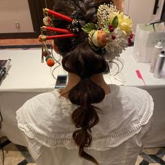 成人式ヘア 振袖ヘア 振袖 成人式 ヘアスタイルや髪型の写真・画像