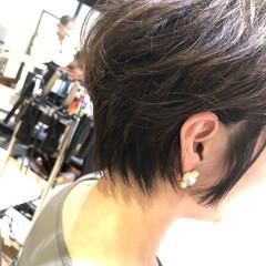 エレガント 髪質改善 ショートボブ 髪質改善トリートメント ヘアスタイルや髪型の写真・画像