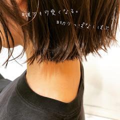 インナーカラー ミニボブ ショートヘア ショートボブ ヘアスタイルや髪型の写真・画像