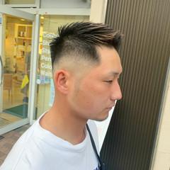 ショート メンズヘア メンズカット フェードカット ヘアスタイルや髪型の写真・画像