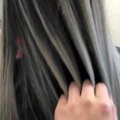 グラデーションカラー ナチュラル ロング 外国人風カラー ヘアスタイルや髪型の写真・画像