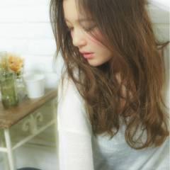 愛され フェミニン 透明感 モテ髪 ヘアスタイルや髪型の写真・画像