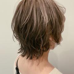 ストリート ウルフカット ハイトーン ダブルカラー ヘアスタイルや髪型の写真・画像