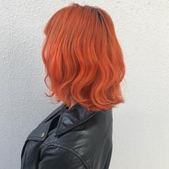 ストリート カラーバター ダブルカラー ブリーチ ヘアスタイルや髪型の写真・画像