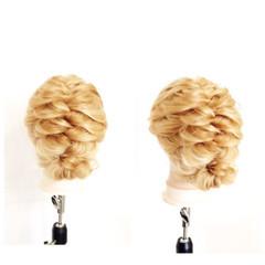 くせ毛風 簡単ヘアアレンジ ショート ヘアアレンジ ヘアスタイルや髪型の写真・画像