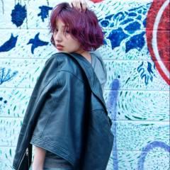 ストリート ショート 春 パンク ヘアスタイルや髪型の写真・画像