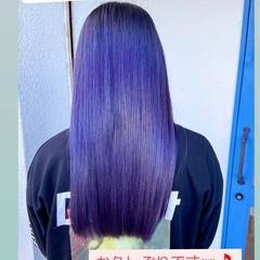 ロング ナチュラル きれいめ 透明感カラー ヘアスタイルや髪型の写真・画像