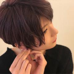 イルミナカラー モード ショート 似合わせ ヘアスタイルや髪型の写真・画像