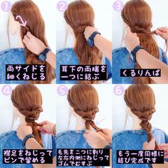 ロング 夏 リラックス 色気 ヘアスタイルや髪型の写真・画像