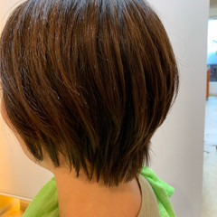 切りっぱなしボブ ショートボブ ベリーショート ウルフカット ヘアスタイルや髪型の写真・画像