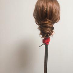 フェミニン ブライダル 結婚式 ヘアセット ヘアスタイルや髪型の写真・画像