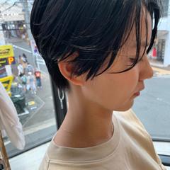 ハンサムボブ ショートボブ ミニボブ ショートヘア ヘアスタイルや髪型の写真・画像