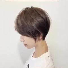 大人かわいい ナチュラル ショート ベリーショート ヘアスタイルや髪型の写真・画像