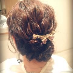 大人かわいい モテ髪 ヘアアレンジ ロング ヘアスタイルや髪型の写真・画像