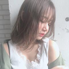 ミディアム デート 大人かわいい モテ髪 ヘアスタイルや髪型の写真・画像