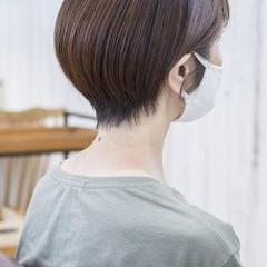ショートヘア ショート 小顔ショート ショートカット ヘアスタイルや髪型の写真・画像