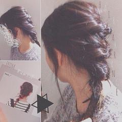 ショート ストレート セミロング ヘアアレンジ ヘアスタイルや髪型の写真・画像