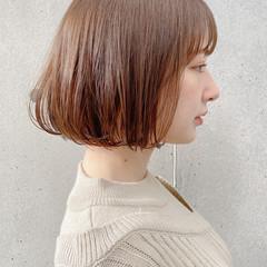 モテ髪 アンニュイほつれヘア ナチュラル ボブ ヘアスタイルや髪型の写真・画像