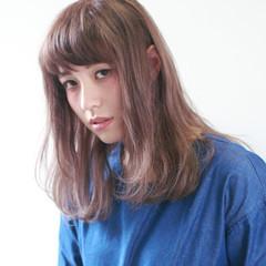 ガーリー ゆるふわ ハイライト 外国人風 ヘアスタイルや髪型の写真・画像