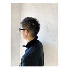 メンズ メンズカット ショート メンズショート ヘアスタイルや髪型の写真・画像