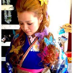 コンサバ ヘアアレンジ 愛され モテ髪 ヘアスタイルや髪型の写真・画像