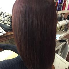 秋 ナチュラル 暗髪 艶髪 ヘアスタイルや髪型の写真・画像