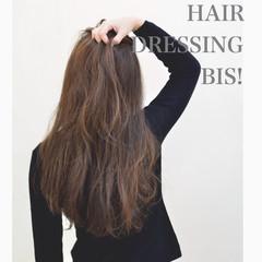 外国人風 ナチュラル フェミニン ハイライト ヘアスタイルや髪型の写真・画像