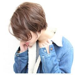 大人女子 ナチュラル 色気 ショート ヘアスタイルや髪型の写真・画像